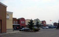 Cochrane shopping centre - pointe of view